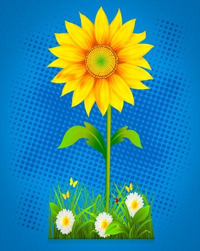 unikatni izdelek sončnica